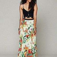 Free People  FP ONE Floral Patchwork Maxi at Free People Clothing Boutique