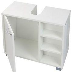 Bathroom Cabinet Under Sink Cupboard Basin Storage Unit Bathroom Furniture