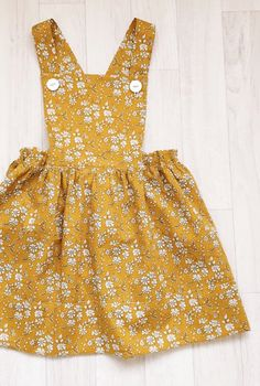 Handmade Liberty Print Pinafore Dress | HandmadeClothingLTD on Etsy