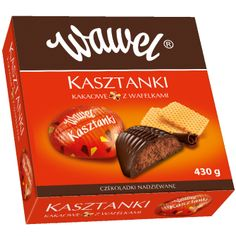 Wawel Kasztanki Polish Chocolates!