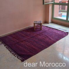 Morocco Vintage rug // 5 x 6' // Purple  // KL9982 on Etsy, ¥60,000.00