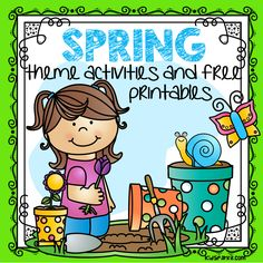Tons of spring themed FREE printables to download instantly on this page. Preschool and Kindergarten levels.