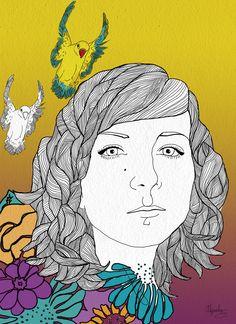 Talent Alejandra Esteve - DIGITAL ILLUSTRATION