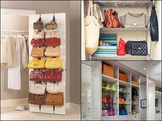 How to organize purses Closet Storage, Bag Storage, Purse Organization, Organize Purses, Orice, Shelves, Mai, Closets, Home Decor