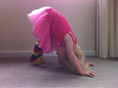 Just For Daisy:: Kid friendly yoga - how to do yoga with toddlers  Some great simple poses based on things your toddler will know and recognise! Lots of fun here!