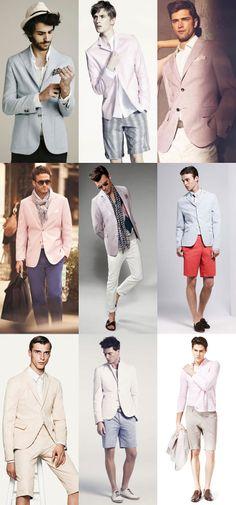 Men's LA Inspired Nighttime Style