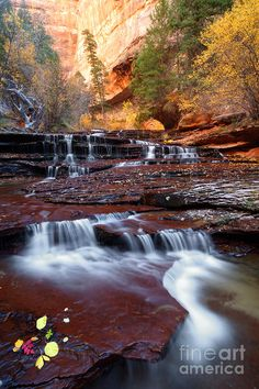 ✯ Arch Angel Cascades in Zion National Park, Utah