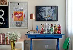 Monte um bar compacto e charmoso em casa, solução perfeita para receber bem :)