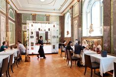 Salon de Thé - Nasjonalgalleriet Oslo, Gallery Cafe, National Gallery, Dining, Table, Furniture, Backpacking, Tea Time, Wander