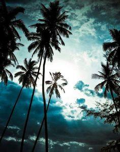 Blue Sky in Koh Samui, Thailand