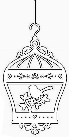 Kati B. Molnár:még mindig maradva a sziluettnél. Boarder Designs, Stencil Designs, Kirigami, Bird Crafts, Diy And Crafts, Stencils, Silhouette Clip Art, Wood Burning Patterns, Scroll Saw Patterns