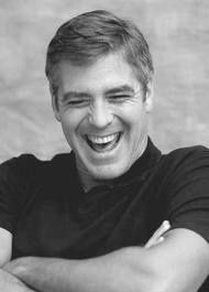 George Clooney - a genuine laugh!