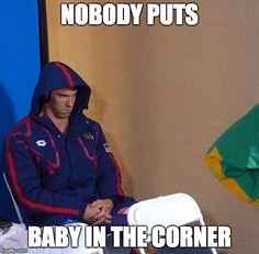 Michael Phelps Stare Meme Generator - Imgflip