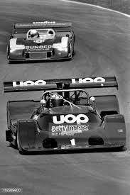 (1) George Follmer - Shadow DN4 Chevrolet - Phoenix Racing - (66) Brian Redman - Porsche 917/30 TC - Penske Racing - Canadian American Challenge Cup Mid-Ohio - 1974 Canadian-American Challenge Cup, round 4