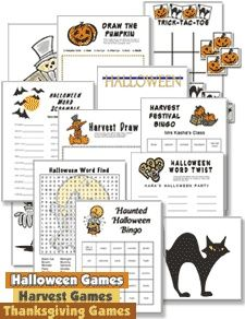 Halloween game ideas
