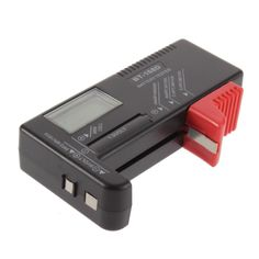 Цифровой универсальный тестер батареек и аккумуляторов. Простота, надежность и точность в работе. Бесплатная доставка!