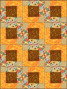 Poppy Poeta Pre-Cut Quilt Kit Blocks - Quilt Kit Negozio
