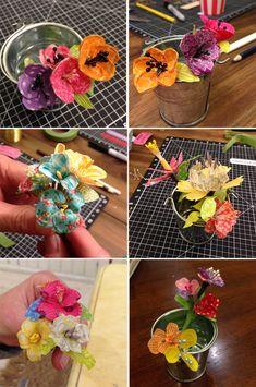 マスキングテープは何かを可愛くデコレーションしたりと脇役として使うことが多めですが、お気に入りの柄のものは主役として楽しみたいですよね。そこで今回は、マスキングテープでお花を作る方法をご紹介します。