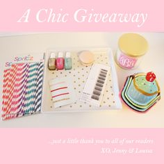 A Chic Giveaway from forchicsake.com