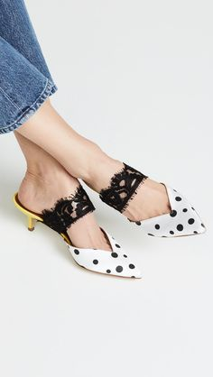 Fall Biggest Shoe Trends Are Coming in Hot, Ready or Not Malone Souliers, African Fashion Dresses, Heeled Mules, Personal Style, Kitten Heels, Winter Fashion, Fall 2018, Fashion Looks, Popsugar