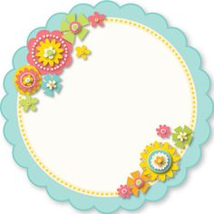 Flower Frame, Flower Art, Diy And Crafts, Crafts For Kids, Boarders And Frames, Cute Frames, Birthday Frames, Borders For Paper, Frame Clipart