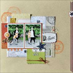 you and me *Cocoa Daisy August Kit* - Scrapbook.com