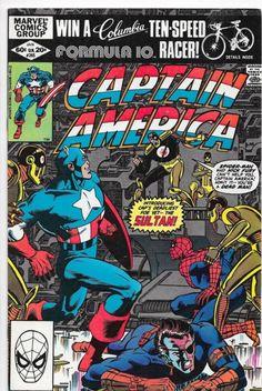 Captain America #265 Bronze Age Marvel  David Anthony Kraft VF/NM
