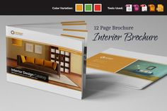 Interior Brochure InDesign v.1 by Miyaji75 on Creative Market