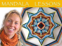 tutorial mandala weaving instructions on skype by MandalaArtByCloe, €12.50