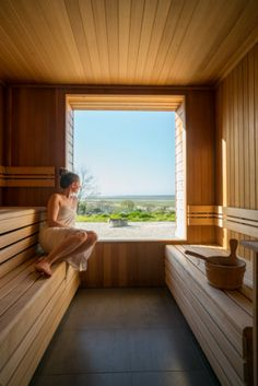 Home Interior 2019 Sauna House, Sauna Room, Sauna Design, Design Design, Interior Design, Sauna Shower, Jacuzzi Room, Natural Swimming Pools, Natural Pools