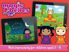 FREE for a limited time! One of our Editor's Favorite apps, Magic Belles: Magic Music for iPhone & iPad #kids #freeapps #sale #apps