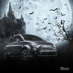What do you say about showing up at #Halloween party with a style? Get on board #500S!