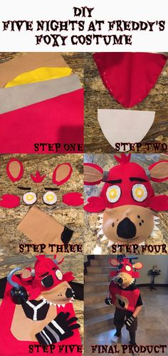 DIY Five Nights at Freddy's Costume