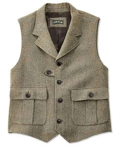 Just found this Herringbone Tweed Vest For Men - Herringbone Pocket Vest -- Orvis on Orvis.com!