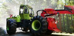 WF trac 4 x 4 SWerner Forst- und Industrietechnik
