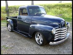 1951 Chevrolet 5 Window Pickup If It Is A 51 It Has Been Altered By Adding Pre 51 Doors A Nice Truc Classic Trucks Classic Chevy Trucks Classic Cars Trucks