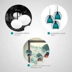 Luminárias modernas Ideally!