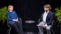Between Two Ferns With Zach Galifianakis: Hillary Clinton -                                               Up Next:   Funny Or Die Presents Donald Trump's The Art Of The Deal: The Movie Trailer     AUTOPLAY   ...