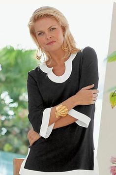 Beautiful tunic. We have a wide selection of wonderful and flattering clothes at…