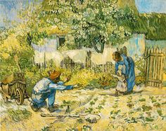 Vincent van Gogh. First Steps, 1889