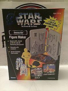 (TAS004824) - Kenner Star Wars Figure Molder Maker - Droids Kit