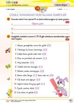 2. Sınıf Soru Bankası Tüm Dersler Süper Kitap Turkish Language, Writing A Book, Homework, Worksheets, Homeschool, Education, Books, Reading, Write A Book