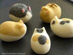 海外からも絶賛!!『猫の和菓子』が可愛すぎる!!