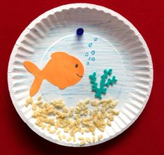 1000 images about preschool under the sea on pinterest for Fish bowl craft