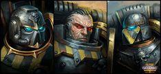 Portraits for Battlefleet Gothic: Armada 2 Warhammer 40k Art, Warhammer Fantasy, Chaos Legion, Battlefleet Gothic, The Horus Heresy, Gundam Wallpapers, Imperial Fist, Mini Paintings, Space Marine