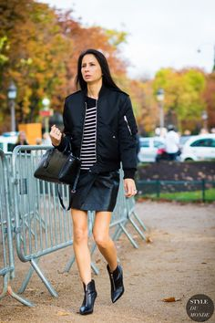 Melanie Huynh Street Style Street Fashion Streetsnaps by STYLEDUMONDE Street Style Fashion Photography