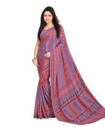 Multi Color All New Traditional Print Style Evergreen Saree