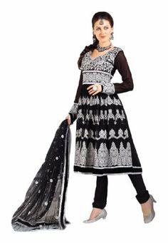 Fabdeal Women's Indian Designer Wear Embroidered Salwar Black Fabdeal, http://www.amazon.co.uk/dp/B00GD6CTP4/ref=cm_sw_r_pi_dp_DSNntb1NKB7GN