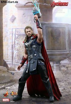The Avengers 2: Thor, Deluxe-Figur (voll beweglich) ... https://spaceart.de/produkte/tav015.php