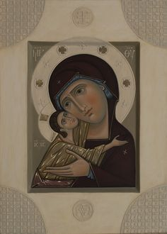 Our Lady of Tenderness, 2016 by Olga Shalamova